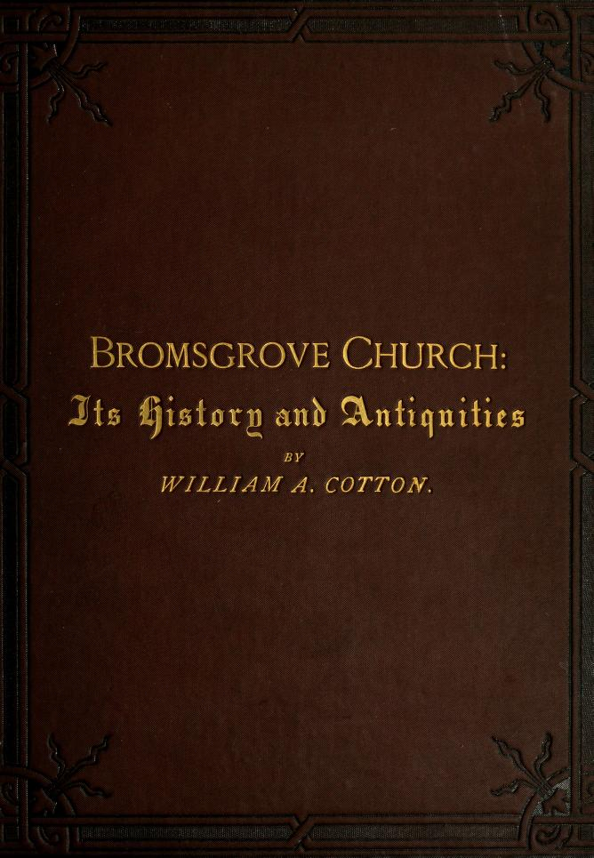 Bromsgrove Church by William Alfred Cotton